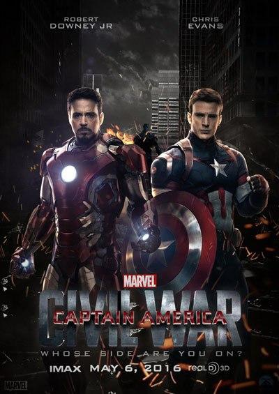 Caiu na net trailer de Capitao America guerra civil( Capitao america 3)