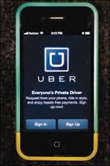 Taxistas querem tirar do ar o Ubber sugest!