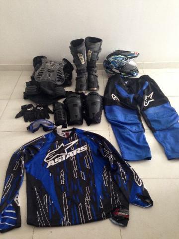Fãs de Motocross Crescem no Brasil e vendas de acessórios Disparam!