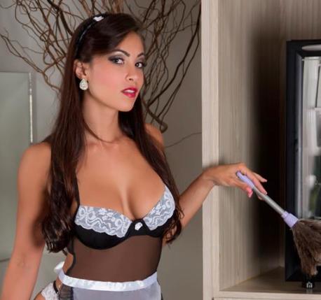 domestica sexy Fantasias Eróticas mais Famosas dos Brasileiros