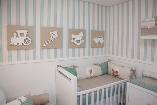 papel de parede quarto de bebe 1 Os 7 Papeis de Parede para Quarto de Bebê mais Fofos da Internet