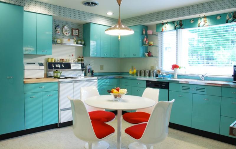 cozinha retro 01 3 principais estilos de cozinhas planejadas!