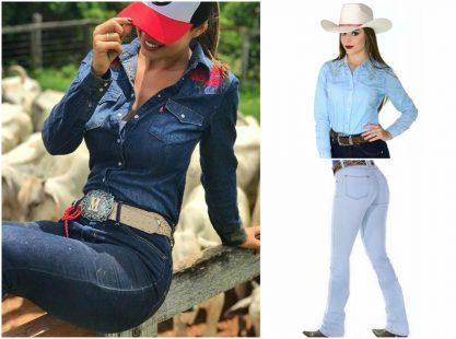 conjuntinho cuntry 417x310 Rodeios e as Novidades de Moda Country 2018