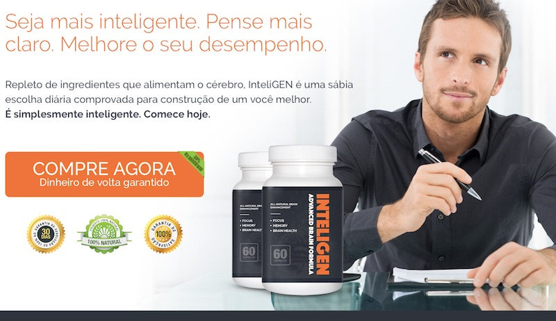 inteligen INTELIGEN: Suplemento CEREBRAL Incrivel e Potente