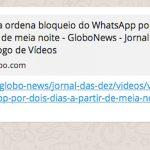 Whatsapp Bloqueado segunda 0406 no brasil todo 150x150 Após greve, caminhoneiro recebe multa de 400 mil e se suicida: verdadeiro ou falso?