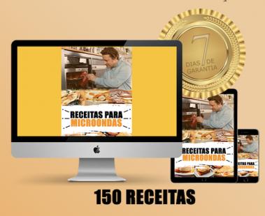 150 receitas para micrrondas 379x310 Receitas para Microondas: Ebook com as 150 melhores!